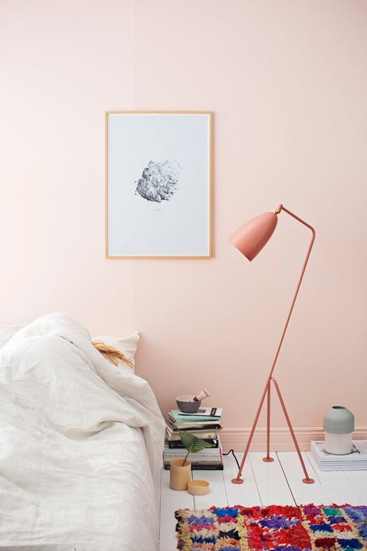 chambre adulte rose